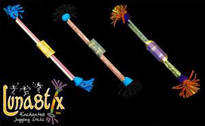 flowerstick kijek kwiatowy lunastix