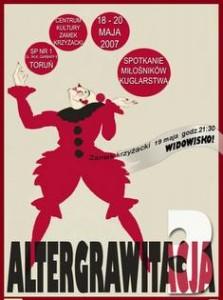 Altergrawitacja 18-20 maja 2007 Toruń