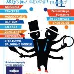 festiwal artystów ulicznych i precyzji