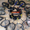 monocykle w salonie