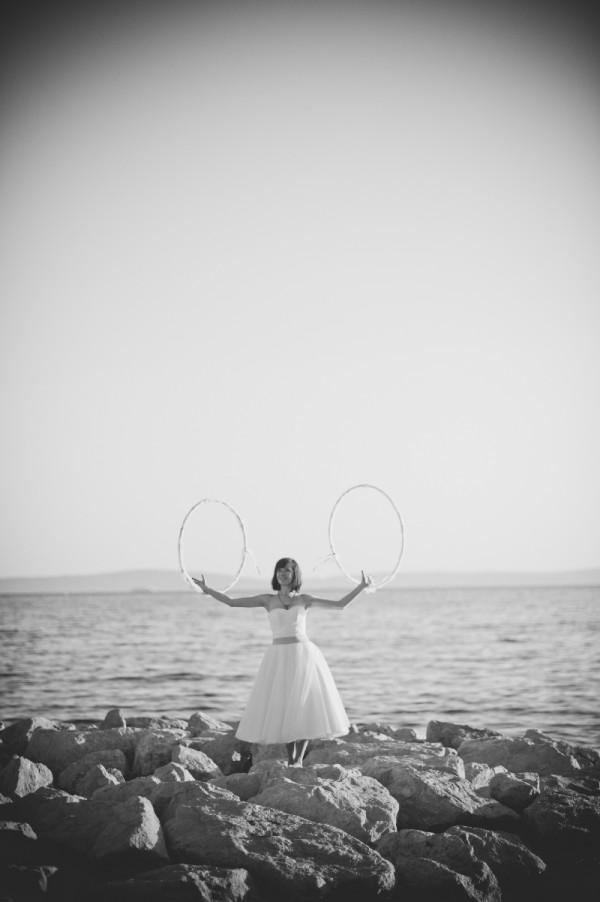 ślubne hula hoop