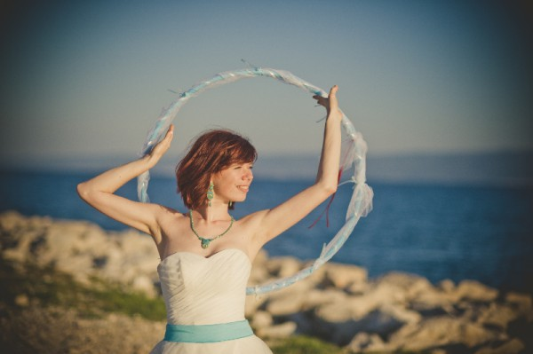 wedding hula hoop
