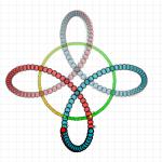 antyspin, 3bity, dwie poiki, układ '+', together time, opposite direction