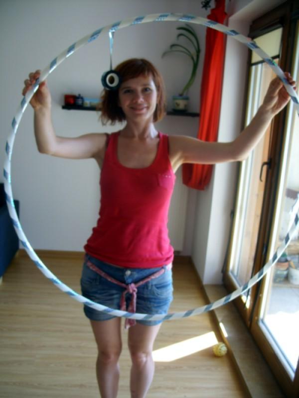 taśma srebrna do hula hoop