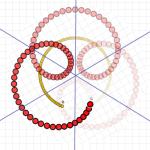 spin, 4bity, płatek do góry, kąt 60 stopni pomiędzy osiami symetrii