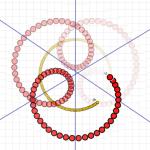 spin, 4bity, płatek w dół, kąt 60stopni pomiędzy osiami symetrii