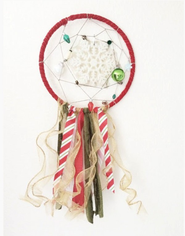 hula dreamcatcher christmas