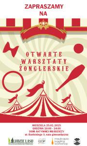 Otwarte Warsztaty Żonglerskie w Gliwicach @ Dom Aktynwej Młodzieży