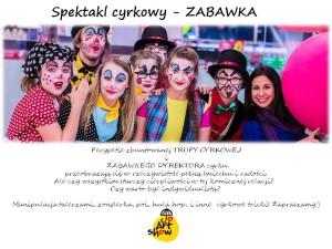 """JO ART SHOW zaprasza - """"Zabawka"""" spektakl cyrkowy + warsztaty cyrkowe ( poi, kij, hula) @ Płock"""