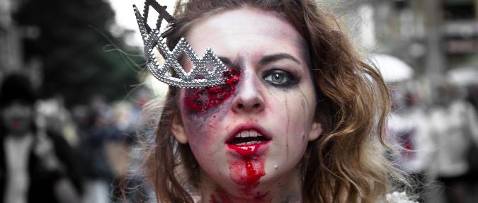 zombie walk wroclaw makijaż