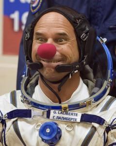 Guy Laliberte w kosmosie