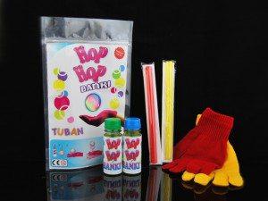 Zestaw Hop Hop do zabawy bańkami mydlanymi