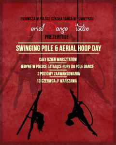 SWINGING POLE & AERIAL HOOP DAY @ Aerial Dance Studio