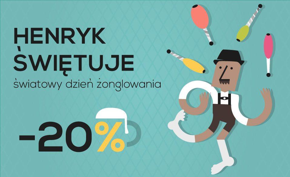 Promocja na Światowy Dzień Żonglerki