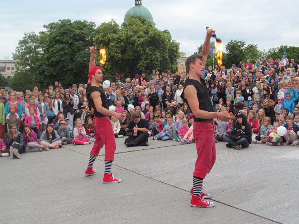 IV edycja festiwalu artystów ulicznych i precyzji