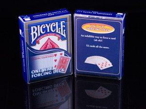 Bicycle One Way Forcing Deck - sztuczka magiczna karciana