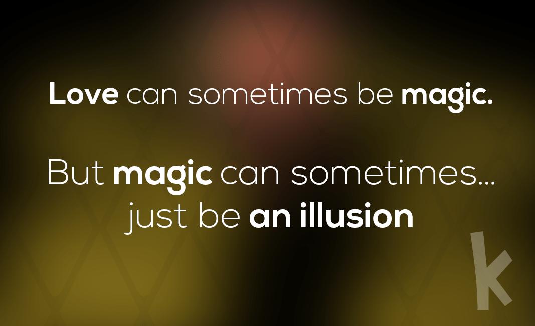sztuczki magiczne - mikroiluzja