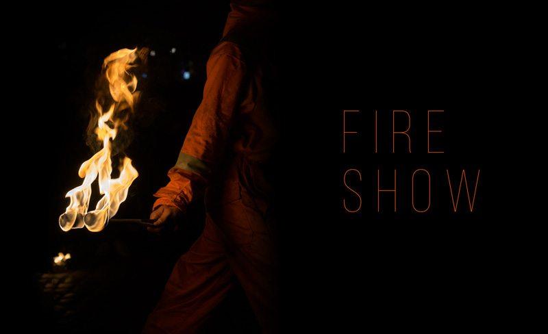 rekwizyty do nowatorskiego fireshow
