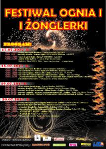 FESTIWAL OGNIA I ŻONGLERKI W TURKU @ MDK | Turek | wielkopolskie | Polska