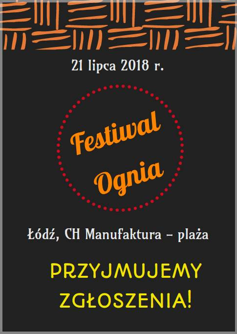 VI Festiwal Ognia w Łodzi
