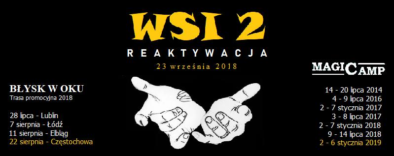 Wąchockie Spotkanie Iluzjonistów 2 @ Miejsko-Gminny Ośrodek Kultury w Wąchocku | Wąchock | świętokrzyskie | Polska